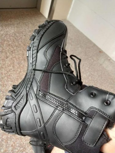 Men Outdoor Slip Resistant Hiking Ankle Desert Boots photo review