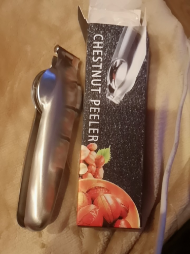 Stainless Steel Chestnut Opener photo review
