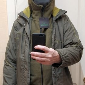 Loose-Fit Fleece Jacket photo review
