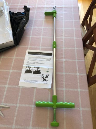 Standing Weed & Root Puller - homezy photo review