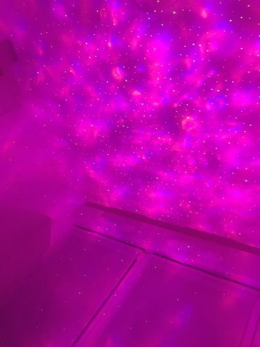 Lax Lights Galaxy Projector photo review