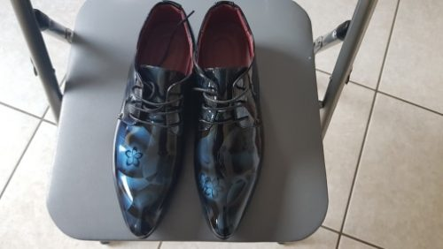 Marco Vittorio Handcrafted Floral Oxford Shoes - kingsmanshoes photo review
