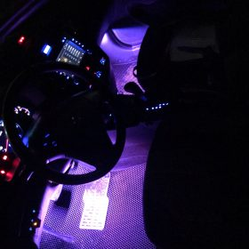 The last day-Car Interior Ambient Lights(Contains four light bars) - tesweet photo review