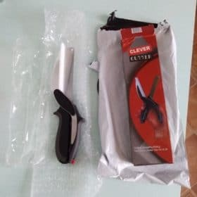 Clever Cutter - Kitchen Scissors with Cutting Board - superbuymarket photo review