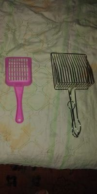 UPGRADED METAL LITTER SCOOP WRAPPED WITH FOAM PLASTIC HANDLE - yodgo photo review