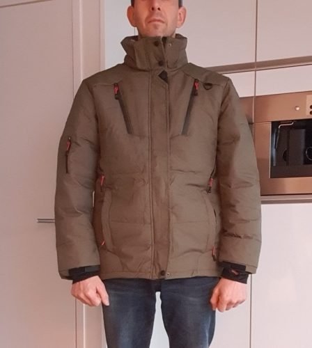 Globetrotter - Hooded Down Jacket - shopvitant photo review