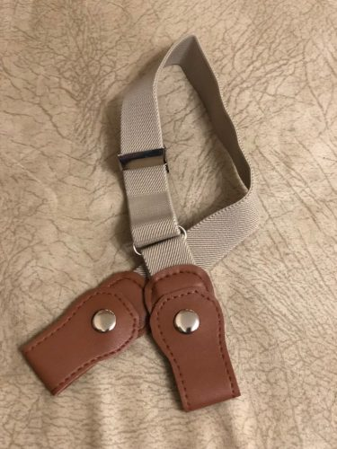 Buckle-free Invisible Elastic Waist Belts - satywig photo review