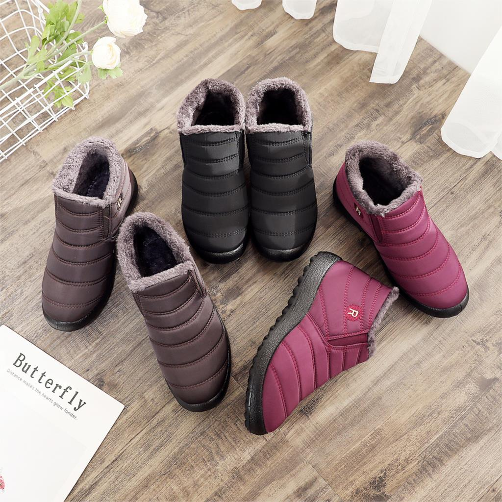 Women Winter Boots Unisex Couples Snow Boots Women Ankle Shoes New Fashion Color Ladies Ankle Boots Waterproof Shoes Keep Warm Ankle Boots  - AliExpress