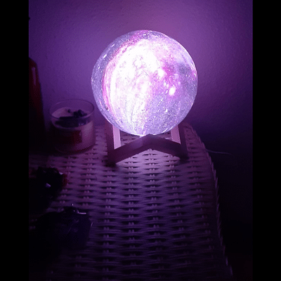 Galaxy Lamp photo review