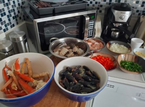 Ultimate Seafood Shears - lilaceverest photo review