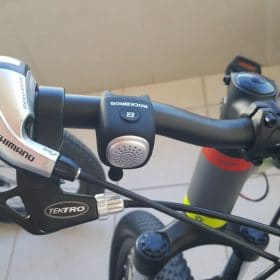 RIDESAFE PREMIUM LOUD CYCLING HORN - bikedescent photo review