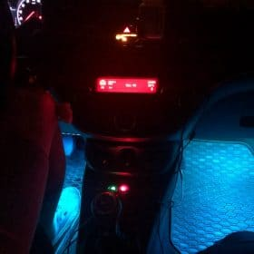 50% OFF-Car Interior Ambient Lights- (Contains 4 light bars) - cioker photo review